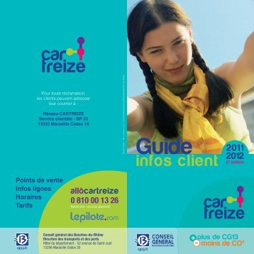 Guide info-clients 2011-2012 - Conseil général des Bouches-du ...