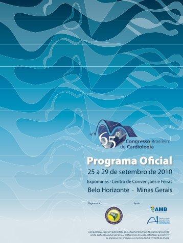 Programa Oficial - 66 Congresso Brasileiro de Cardiologia
