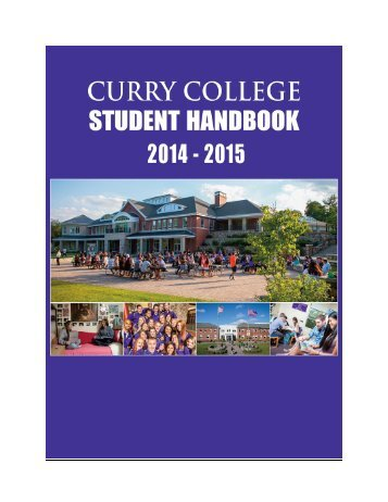 Student Handbook - Curry College