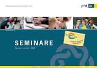 SEMINARE - Pädagogische Hochschule Tirol