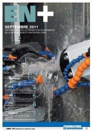 Septembre 2011 - Promotion économique de la république et ...