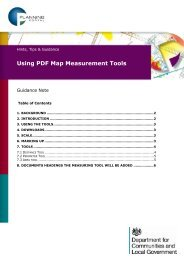 Using PDF Measurement Tools - Planning Portal