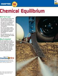 Chapter 18: Chemical Equilibrium