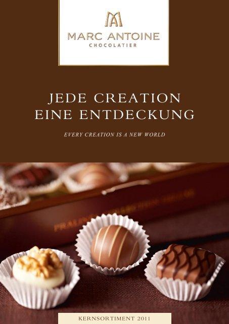 JEDE CREATION EINE ENTDECKUNG - Marc Antoine