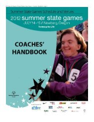 2012 Special Olympics Oregon Summer State Games – Coaches ...