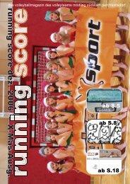running score dez. 2006 X-Mas-A usg.