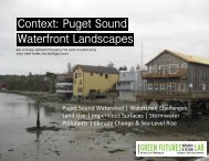 Context: Puget Sound Waterfront Landscapes - Green Futures Lab ...