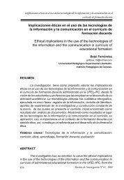 Implicaciones éticas en el uso de las tecnologías de la ... - SciELO