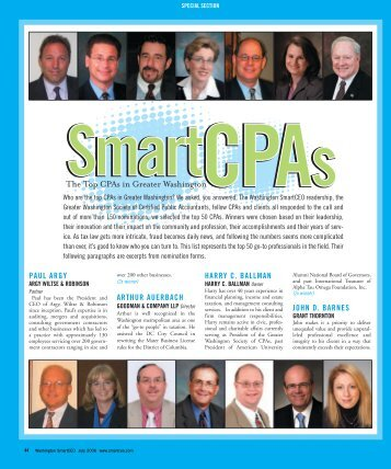Top 50 CPAs - The McLean Group