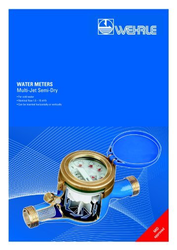 semi-dry multi-jet meters, the solution for critical water quality - Wehrle