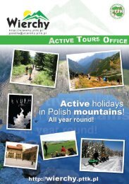 Active holidays in Polish mountains - Salon Turystyki Aktywnej PTTK ...