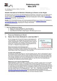Rottenburg-Info März 2010 - WTG Rottenburg am Neckar mbH