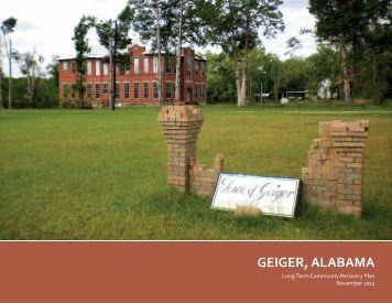 GEIGER, ALABAMA - Alabama Department of Economic and ...