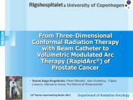 2.3 Engelholm, From 3D Conformal Radiation Therapy - Varian