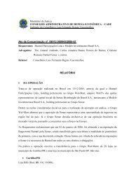 CADE Gabinete do Conselheiro Luís Fernando Rigato Vasc