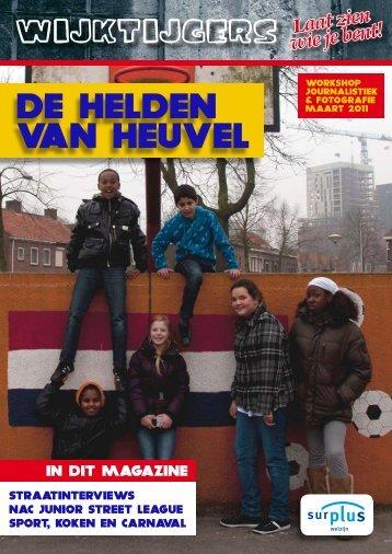 DE HELDEN VAN HEUVEL - Wijktijgers