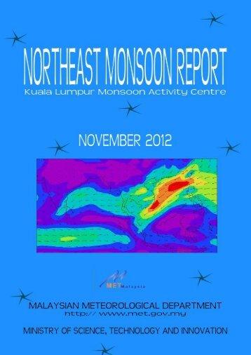 Kuala Lumpur Monsoon Activity Centre November 2012