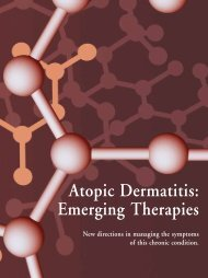 Atopic Dermatitis: Emerging Therapies - The Dermatologist