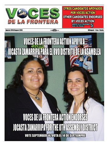 Agosto 2010/August 2010 Bilingual – Free / Gratis - Voces De La ...