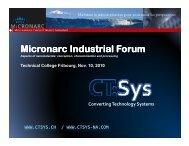 Micronarc Micronarc Industrial Forum Industrial Forum