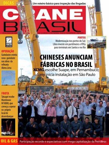 CHINESES ANUNCIAM FÁBRICAS NO BRASIL - Locar