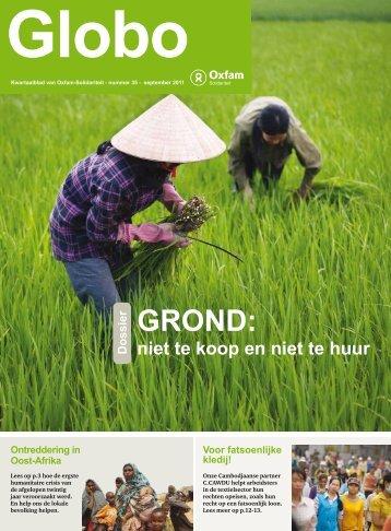GROND: - Oxfam-Solidariteit