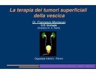 I tumori superficiali della vescica - Oncologia Rimini