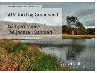 DKjord og PULS - ATV - Jord og Grundvand