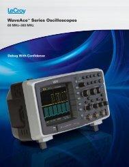 LeCroy WaveAce Specifications - LeCroy WaveAce-102 Oscilloscope