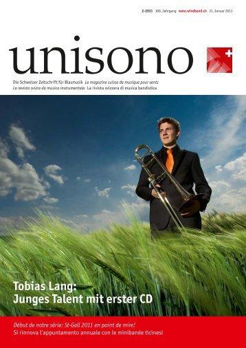 Tobias Lang: Junges Talent mit erster CD - Schweizer ...