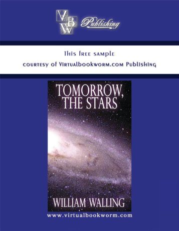 TOMORROW, THE STARS! - Books by William Walling