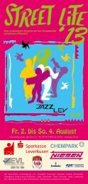 Streetlife-Programm als PDF herunterladen - Jazz Lev e. V.