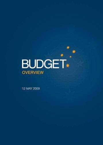 Budget Overview - Budget 2009-10