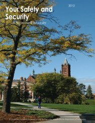 Your Safety and Security at Syracuse University - Department of ...