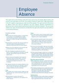 Employee Absence - CIPD - Page 2