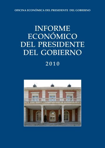 Texto completo del Informe Económico 2010 (PDF)