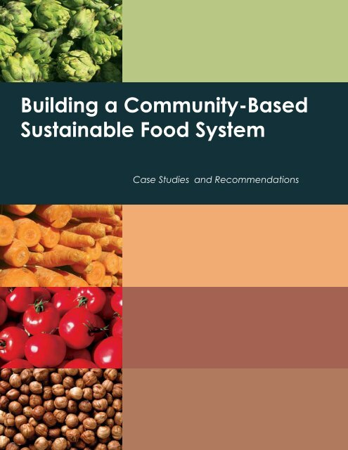 Building a Community-Based Sustainable Food System