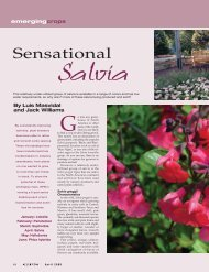 Sensational - Greenhouse Product News