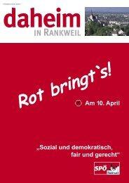 März 2005 - SPÖ Rankweil
