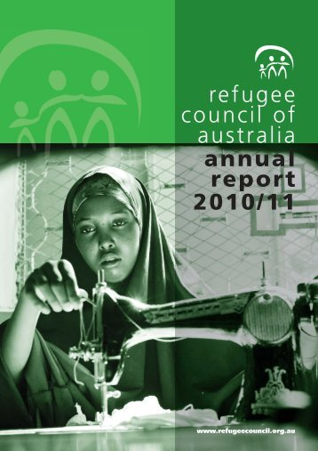 2010-11 Annual Report - Refugee Council of Australia
