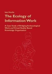 The Ecology of Information Work - Åbo Akademi