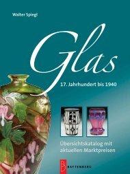 Glas – 17. Jahrhundert bis 1940
