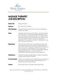 massage therapist massage therapist job description job description