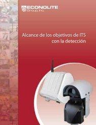 Product Suite Brochure Detection Spanish - Econolite
