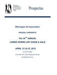 The 30 ANNUAL JURIED SPRING ART SHOW & SALE APRIL 13,14 ...