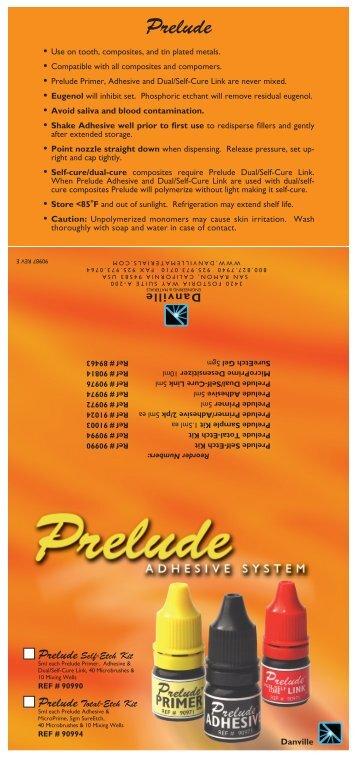Prelude - Danville Materials