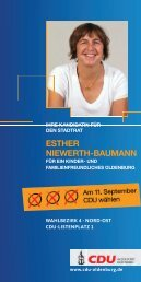 esTheR NieWeRTh-BAumANN - CDU Oldenburg