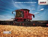 MOISSONNEUSES-BATTEUSES AXIAL-FLOW® - Centre Agricole.ca