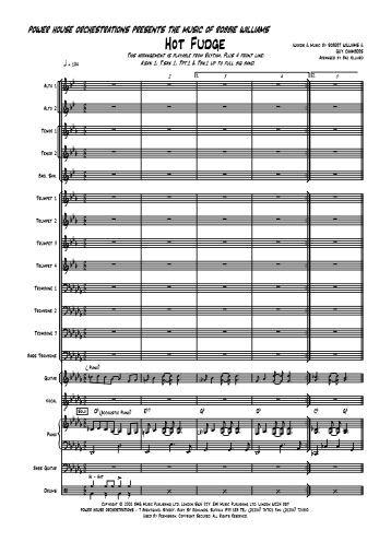 Hot Fudge Score