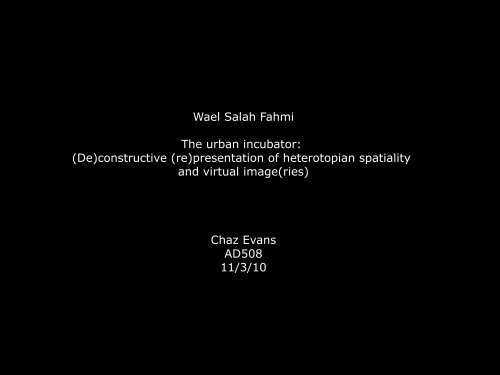 cEvans_FahmiPres - Daniel Sauter
